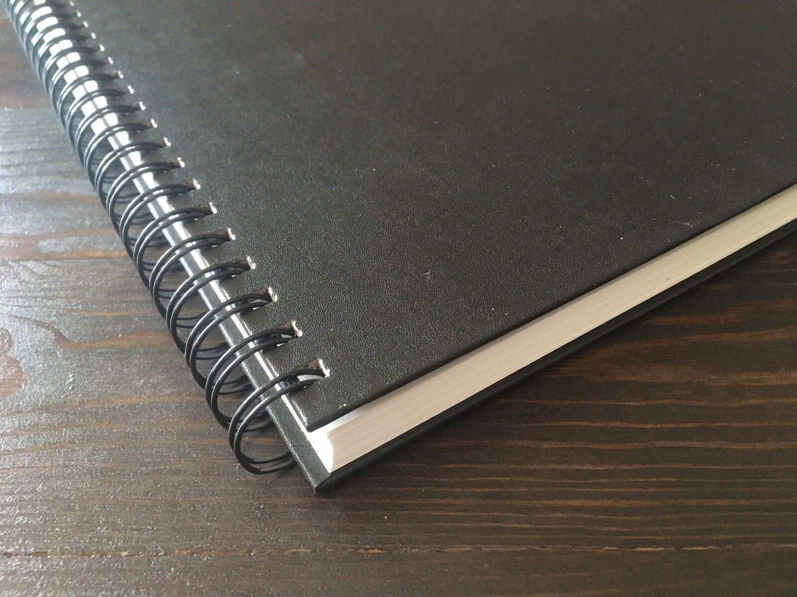 "Hardcover Sketch Book 60lb Paper Hardbound Value Pads 9""x1"