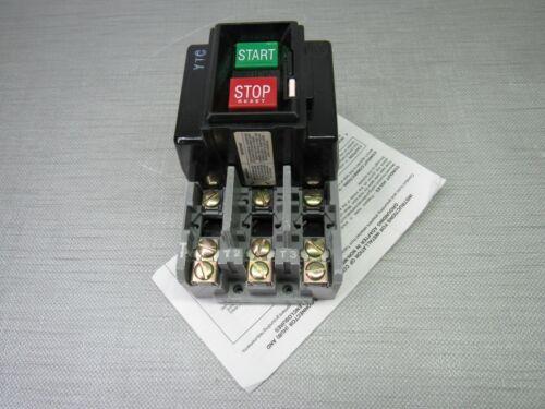 Allen-Bradley 609-AOW Manual Starter Ser.G Size 1