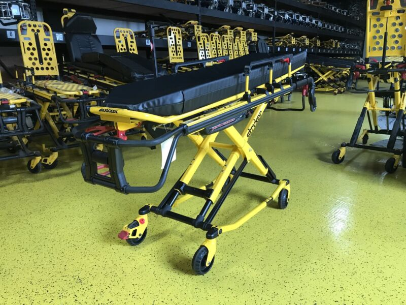 Stryker Performance Pro 700 Lbs Ambulance Stretcher Cot Ferno Mx 6085 6086 A+