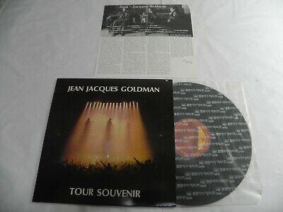 Jean Jacques Goldman - Tour Souvenir 1992 Korea LP W/Insert