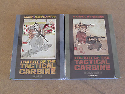 The Art of the Tactical Carbine 2nd edition Volume 1 & 2 DVD set sealed