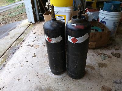 Pair Of B Tanks Acetylene
