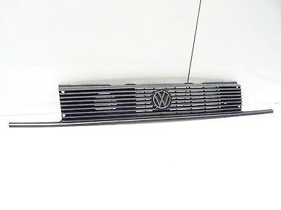 /'89 Stoßstange mit Chrom Zierleiste hinten für VW Polo 86C Steilheck bis Bj
