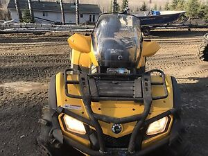 *REDUCED!!!* 2009 can am outLander 800 xt max