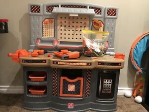 Step 2 Home Depot work bench