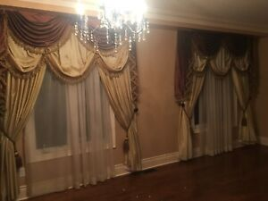 Custom Made Curtains!