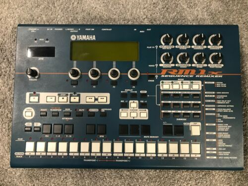 Yamaha RM1X Sequencer Groovebox Synth w floppy