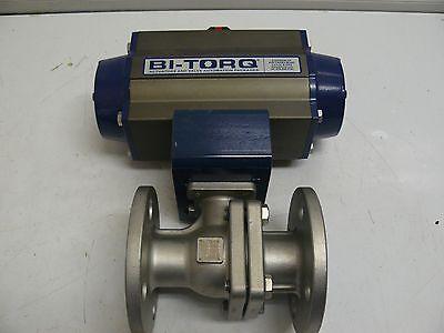 Bi Torq Is2pf1075srpn Pneumatic Actuator Valve 1 New