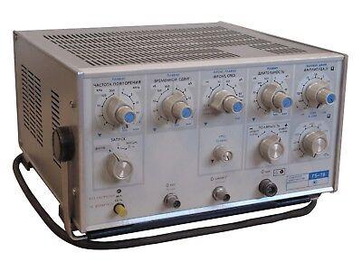 0.5-5v50 Ohm 1ns-0.5s 1 Khz-500 Mhz G5-78 Pulse Generator An-g Agilent Hp