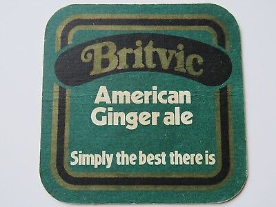Beer Soda Coaster ~ Britvic Ginger Ale ~ Simply The Best There Is ~