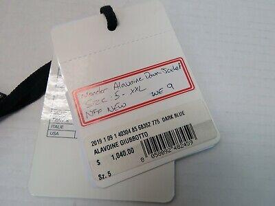 Moncler - Alavoine Mixed Media Down Jacket - Dark Blue - Fits XXL - Size 5 (WE9)
