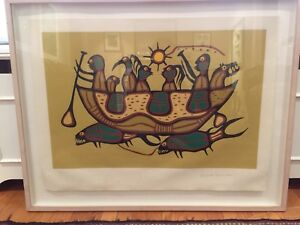 Norval Morrisseau Limited Edition Print - The Great Flood