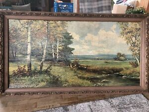 Robert Wood Framed Painting
