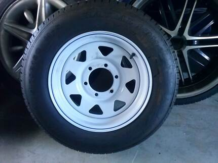 205/70/15 tyre an , trailer, 1 only, with unknow rim. brand new Pimpama Gold Coast North Preview
