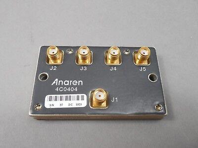 Anaren 4c0404 Power Divider In-phase 4 Way