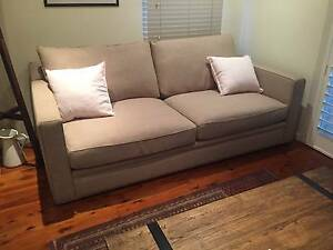 3 Seat Freedom Sofa - Super Comfy With Feather Cushions Darling Point Eastern Suburbs Preview