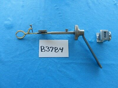 Storz Surgical Ent Shea Ear Speculum Holder W Table Clamp N1699v