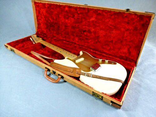 Vintage Unrestored 1956 Fender MusicMaster Electric Guitar With Original Case