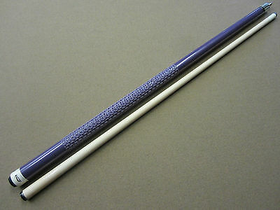Rhino Purple Pool Cue With Weaved Leatherette Wrap & Free Shipping