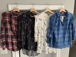 Lot of women's clothing - 11 tops total - $25