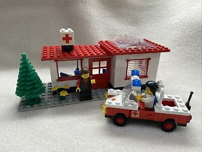 LEGO 6364 Paramedic Unit: 100% Complete W/ Instructions & New Stickers. No Box.