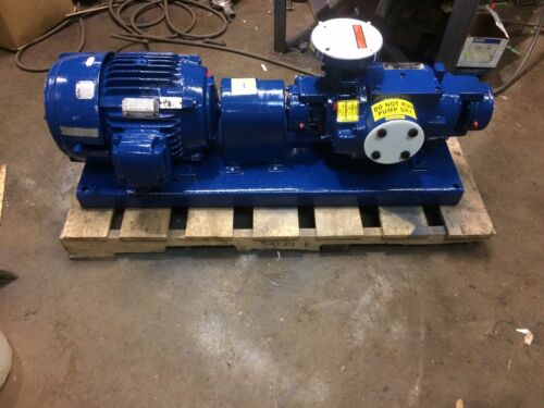 Nash SC-2 compressor with motor, pump is Stainless