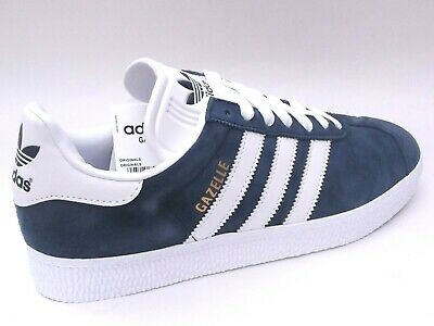 Adidas Gazelle II Mens Shoes Trainers Uk Size 7 - 12    034581 Marine Blue