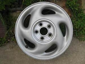 Toyota, 14 inch alloy wheel, 14 x 6 inch, silver, 5 stud on 100mm Ridgehaven Tea Tree Gully Area Preview