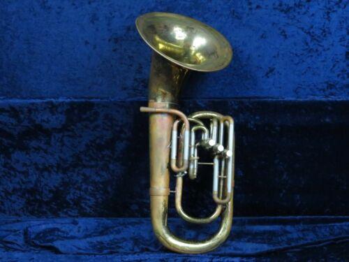 Besson Stratford 3 Valve Baritone Horn Ser#301493 Plays with Big Besson Sound