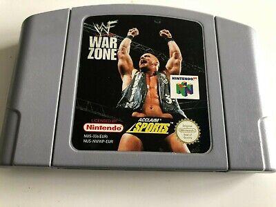 N64 - WWF Warzone - Cart
