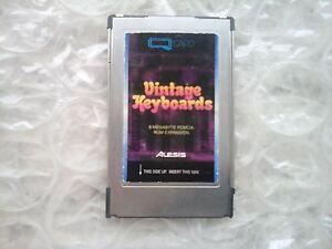 "Alesis QUADRACARD QUADRA Card ""VINTAGE KEYBOARDS"" for QS / QSR synthesizers - Italia - Alesis QUADRACARD QUADRA Card ""VINTAGE KEYBOARDS"" for QS / QSR synthesizers - Italia"