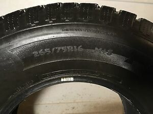 Winter tires 265-75-R16