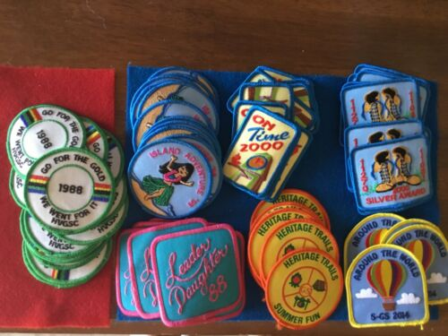 70 -  VINTAGE  GIRL SCOUT PATCHES - SEE PHOTOS