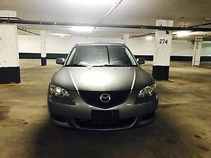 2007 Mazda 3 sport sedan in mint condition with valid E-test!!