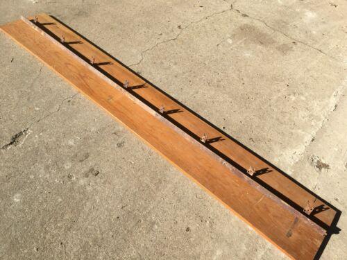 antique barn door roller track [ an 8