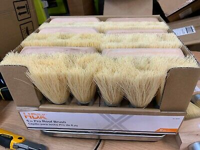 Case Of 12 - New 3-knot Pro Roof Brush 389604 Free Shipping
