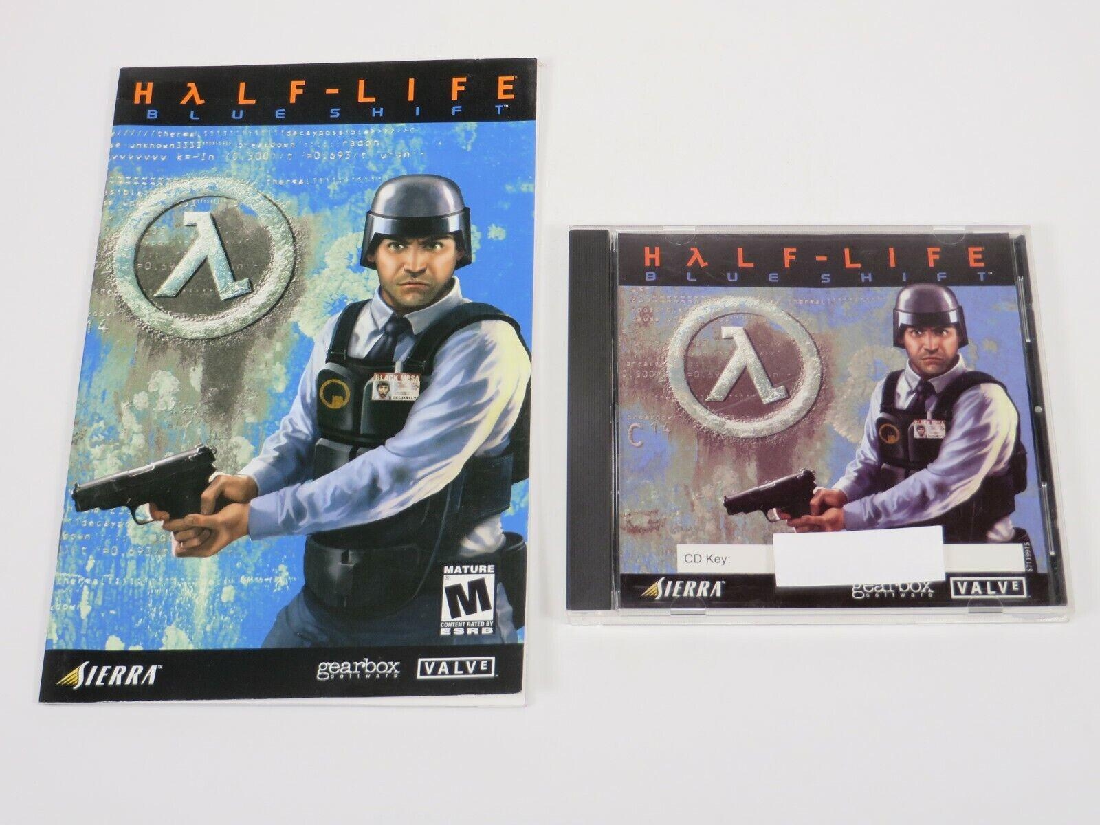 Computer Games - Half-life: Blue Shift (PC, 2001) PC Vintage Computer Game Sierra