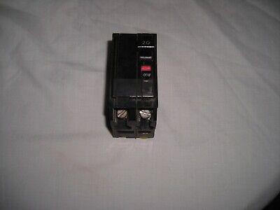 Square D Qo 220 Two-pole 20 Amp Circuit Breaker Plug In