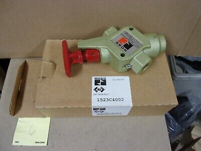 Ross Isolation Lock Out Tag Out Exhaust Air Valve 12 Npt 34 Pneumatic Safety