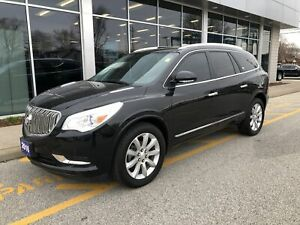 2016 Buick Enclave Premium AWD, Sunroof, NAV, Leather, 7 Pass