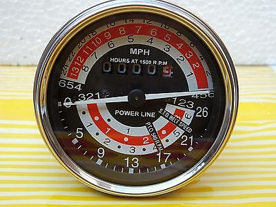 Mph Tachometer For Massey Ferguson 135 148 Tractor- 898469m91 898471m91