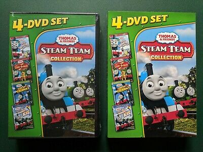 Thomas & Friends: Steam Team Collection (4 DVDs, Slipcover) SEALED, Ohio seller