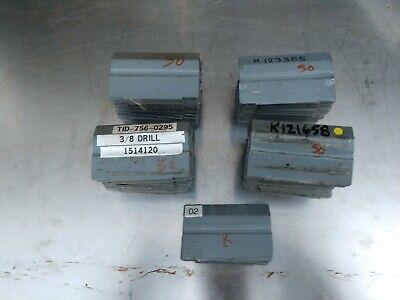 208 Stanley Vidmar D2004 Gray Steel Drawer Dividers For Vidmar Cabinets
