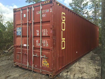 40 X 8 X 9.5 Shipping Container - High Cube - Cargo Worthy Grade B1