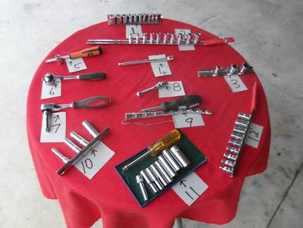 SNAP ON/ SIDCHROME/STAHLWILLE 1/4'' DRIVE ACCESSORIES Glenore Grove Lockyer Valley Preview