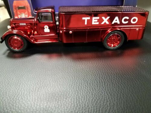 Texaco 1935 Dodge 3 Ton Platform Truck Maroon Die-Cast Metal Bank