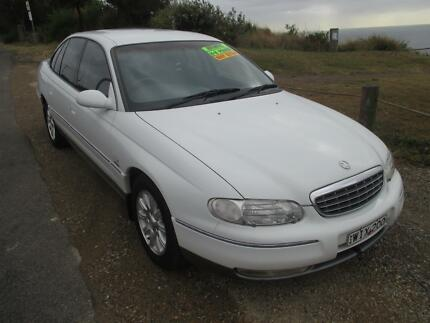 SPECIAL $4990! 2000 Holden Statesman DUAL FUEL V8 FACTORY SAT NAV Redhead Lake Macquarie Area Preview