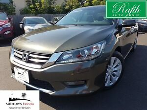 2014 Honda Accord EX-L-Lane departure warning-leather