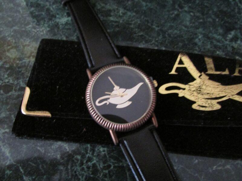 Working Vintage Aladdin Resort Casino Las Vegas Wrist Watch- Aladdin Lamp