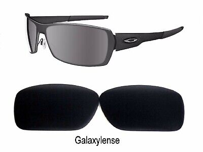 Used, Galaxy Replacement Lenses For Oakley Spike Sunglasses Black Polarized 100%UVAB  for sale  Shipping to India
